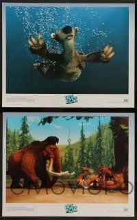 8z023 ICE AGE: THE MELTDOWN 10 LCs '06 cgi sequel, wacky images of mammoth, squirrel, and sloth!