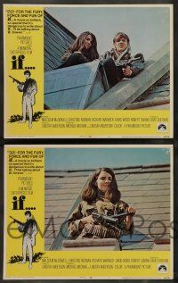 8z243 IF 8 LCs '69 introducing Malcolm McDowell, Christine Noonan, directed by Lindsay Anderson!