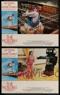8z246 INCREDIBLE SHRINKING WOMAN 8 LCs '80 Joel Schumacher directed, Lily Tomlin, Charles Grodin!