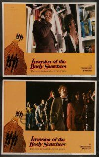 8z251 INVASION OF THE BODY SNATCHERS 8 LCs '78 Philip Kaufman classic remake of space invaders!
