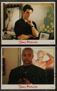 8z257 JERRY MAGUIRE 8 LCs '96 Tom Cruise, Cuba Gooding Jr., Kelly Preston & Renee Zellweger!