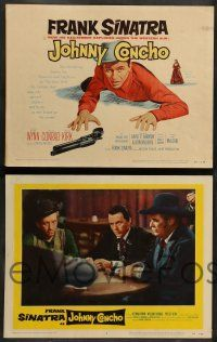 8z262 JOHNNY CONCHO 8 LCs '56 cowboy Frank Sinatra, Keenan Wynn, William Conrad!