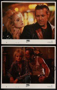 8z263 JOHNNY HANDSOME 8 LCs '89 Mickey Rourke, Ellen Barkin, directed by Walter Hill!
