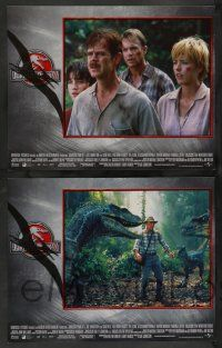 8z270 JURASSIC PARK 3 8 LCs '01 Sam Neill, William H. Macy, Tea Leoni, cool dinosaur images!