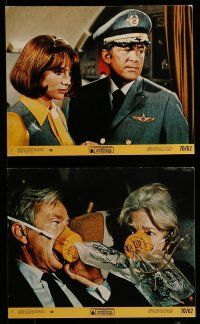 9a025 AIRPORT 8 8x10 mini LCs '70 Jean Seberg, Burt Lancaster, George Kennedy & more!