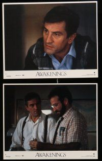9a031 AWAKENINGS 8 8x10 mini LCs '90 directed by Penny Marshall, Robert De Niro & Robin Williams!