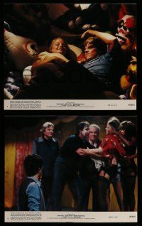 9a042 CARNY 8 8x10 mini LCs '80 great images of Jodie Foster, Robbie Robertson, Gary Busey!