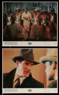 9a049 COTTON CLUB 8 8x10 mini LCs '84 Francis Ford Coppola directed, Richard Gere, Diane Lane!