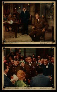 9a018 COURT-MARTIAL OF BILLY MITCHELL 10 color 8x10 stills '56 Gary Cooper, directed by Preminger!