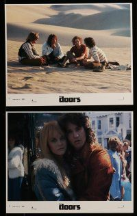 9a051 DOORS 8 8x10 mini LCs '90 Val Kilmer as Jim Morrison, Meg Ryan, directed by Oliver Stone!