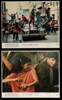 9a063 FAME 8 8x10 mini LCs '80 Alan Parker, Irene Cara at New York High School of Performing Arts