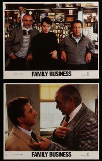 9a064 FAMILY BUSINESS 8 8x10 mini LCs '89 Sean Connery, Dustin Hoffman, Matthew Broderick!