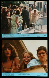 9a069 FOXES 8 8x10 mini LCs '80 Jodie Foster, Cherie Currie, Marilyn Kagen, super young Scott Baio!
