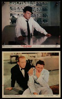 9a017 FRANK SINATRA 11 color 8x10 stills '50s-60s portraits of the legendary star in various roles!