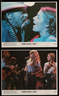 9a079 HONEYSUCKLE ROSE 8 8x10 mini LCs '80 Willie Nelson, Dyan Cannon & Amy Irving, country music!