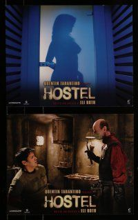 9a019 HOSTEL 10 8x10 mini LCs '05 Jay Hernandez, creepy image from Eli Roth gore-fest!