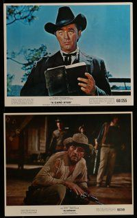 9a005 ROBERT MITCHUM 20 color 8x10 stills '60s-70s portraits of the actor in a variety of roles!