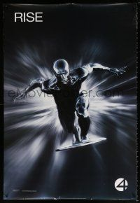 9c039 4: RISE OF THE SILVER SURFER style A teaser DS 1sh '07 Jessica Alba, Chiklis, Chris Evans!