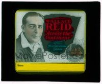 9d037 ACROSS THE CONTINENT glass slide '22 Phil Rosen directed early silent, Wallace Reid!