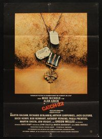 9g435 CATCH 22 German '70 directed by Mike Nichols, based on the novel by Joseph Heller!
