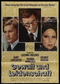 9g446 CONVERSATION PIECE German '75 Luchino Visconti Burt Lancaster, Silvana Manga Helmut Berger!