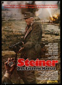 9g450 CROSS OF IRON German R80 Sam Peckinpah, cool image of James Coburn in WWII!