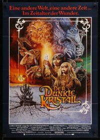 9g455 DARK CRYSTAL German '82 Jim Henson & Frank Oz, different Napoli fantasy art!