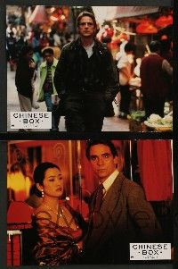 9g824 CHINESE BOX 12 French LCs '97 directed by Wayne Wang, Jeremy Irons, Gong Li
