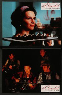 9g867 CHOCOLAT 11 French LCs '01 Johnny Depp, Juliette Binoche, one taste is all it takes!