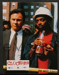 9g826 CLOCKERS 12 French LCs '95 Harvey Keitel, John Turturro, Mekhi Phifer, Spike Lee!