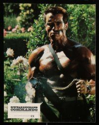 9g813 COMMANDO 14 French LCs '85 Arnold Schwarzenegger is going to make someone pay!