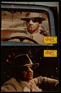 9g729 CHINATOWN 20 German LCs '74 images of Jack Nicholson & Faye Dunaway, Roman Polanski, Huston!
