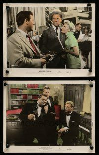 9s136 BEST THINGS IN LIFE ARE FREE 2 color 8x10 stills '56 Curtiz, North, Dailey, Borgnine!