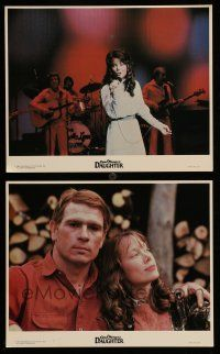 9s138 COAL MINER'S DAUGHTER 2 color 8x10 stills '80 Sissy Spacek as Loretta Lynn, Tommy Lee Jones!