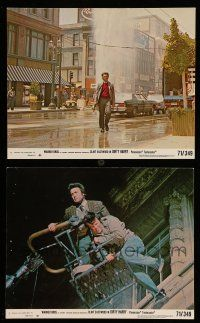 9s139 DIRTY HARRY 2 8x10 mini LCs '71 Clint Eastwood, Suicide Jumper Bill Couch, Siegel classic!