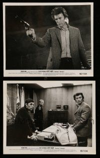 9s947 DIRTY HARRY 2 8x10 stills '71 Clint Eastwood, Harry Guardino, Siegel crime classic!