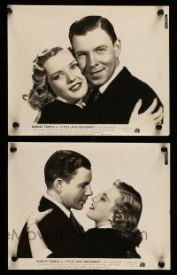 9s962 LITTLE MISS BROADWAY 2 8x10 stills '38 great images of George Murphy, Phyllis Brooks!