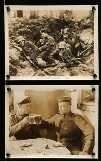 9s278 ALL QUIET ON THE WESTERN FRONT 10 8x10 stills R39 Lew Ayres, Lewis Milestone classic!