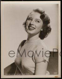 9s931 AMANDA BLAKE 2 8x10 stills '50s close ups of the sexy Miss Kitty actress early in her career!