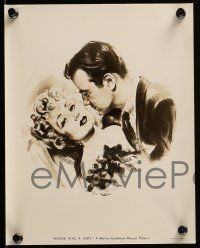 9s819 ANN SOTHERN 3 8x10 stills '40s cool close up portraits of the pretty star + Kusnet art!