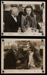 9s821 APARTMENT FOR PEGGY 3 8x10 stills '48 Edmund Gwenn, Jeanne Crain & William Holden!