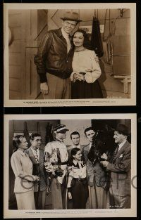 9s695 ARKANSAS SWING 4 8x10 stills '48 Hoosier Hot Shots musical, horse racing!