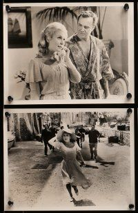9s229 AVANTI 12 8x10 stills '72 directed by Billy Wilder, Jack Lemmon, Juliet Mills