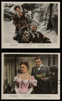 9s109 BACK TO GOD'S COUNTRY 4 color 8x10 stills '53 Rock Hudson, James Oliver Curwood!