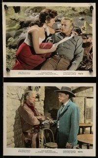9s071 BACKLASH 7 color 8x10 stills '56 Richard Widmark, Donna Reed, directed by John Sturges!