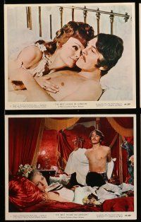 9s085 BEST HOUSE IN LONDON 6 color 8x10 stills '69 David Hemmings, Joanna Pettet, George Sanders!