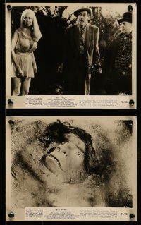 9s279 BIGFOOT 10 8x10 stills '71 horror, John Carradine, wacky monster & sexy girl images!