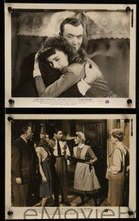 9s606 CLUNY BROWN 5 8x10 stills '46 Charles Boyer, Jennifer Jones, Lawford, Ernst Lubitsch directed!