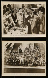 9s608 DANCE BAND 5 8x10 stills '36 great images of Buddy Rogers & gorgeous June Clyde!