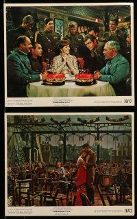 9s074 DARLING LILI 7 color 8x10 stills '70 Julie Andrews, Rock Hudson, Blake Edwards!